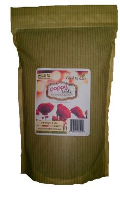 Food To Live POPPY SEEDS - 2 lbs, (Variety: Blue; Grade: A-1) - http://spicegrinder.biz/food-to-live-poppy-seeds-2-lbs-variety-blue-grade-a-1/
