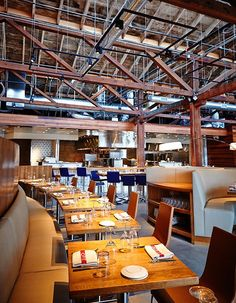 Restaurant Juniper & Ivy Brings Glamorous Decor to an Industrial Space.  Woo hoo, CeCe!
