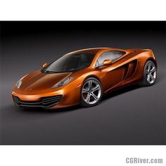 McLaren mp4-12c 2012 - 3D Model