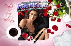 Fotomontaje San Valentín Marco de Amor. - Fondos para Fotos y Foto Montajes en alta calidad.