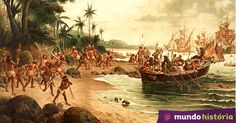 """O """"descobrimento"""" do Brasil #MundoEdu #MundoHistória #História #ENEM"""