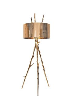 Bling nature into your home w/ gold branch glam floor lamp. stunning jewelry for a room. The 17 Best New Lights of 2015