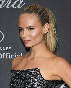The Ponytail Is Officially the Hairstyle of Cannes 2016: Natasha Poly | allure.com