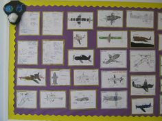 World War Two Fighter Planes (Year 4) classroom display photo - Photo gallery - SparkleBox