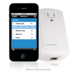 Control lights and appliances in your home using an iPhone, iPod or any web-enabled phone or PDA. SmartLinc puts the power of managing your entire INSTEON home automation network in the palm of your hands. Buy Cell Phones Online, Cheap Cell Phones, Cell Phone Contract, Mobile App, Mobile Phones, Protecting Your Home, Home Upgrades, Web Browser, Home Automation