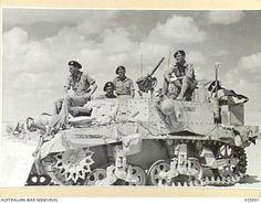 Western Desert Campaign | WESTERN DESERT, EGYPT. 1942-09-16. NAVIGATION TANK OF THE ROYAL SCOTS ...