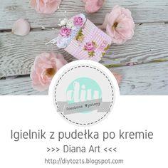 DIY - zrób to sam : #40 GOŚCINNE WYSTĘPY / Diana Art / Igielnik z pude... Diana, Art, Art Background, Kunst, Gcse Art, Art Education Resources, Artworks