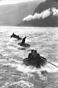 Henri-Cartier Bresson On the Rhine, Germany, 1956