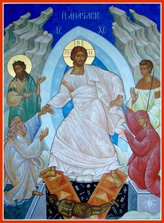 Painter of Sacred Art/Icons for over 30 years. Icon panels and murals for church and home. Religious Images, Religious Icons, Religious Art, Christian Mysticism, Christian Symbols, Transfiguration Of Jesus, Jesus In The Temple, Assumption Of Mary, Christ Is Risen