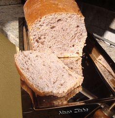 Pão de nozes com canela