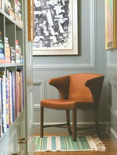 corner chair - love this nook
