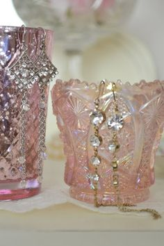 ♥ pink carnival glass