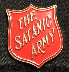 Satanic Army Soft Enamel Pin by BlackCloudCompany on Etsy