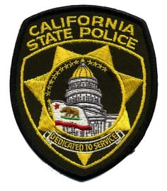 california state police patches | Recent Photos The Commons Getty Collection Galleries World Map App ...