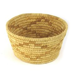 1940's Papago Basket w/ Mustard Yellow by Ruby + George