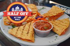 How good does this food from Cheers Faneuil Hall look!? All appetizers are HALF OFF Monday-Friday from 4-6 p.m. during Half Off at the Hall! Feb. 1 - March 31! http://www.faneuilhallmarketplace.com/halfoff