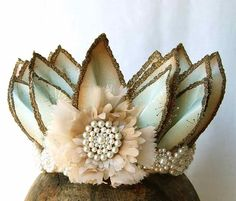 If I were a fairy princess, I'd wear this crown.