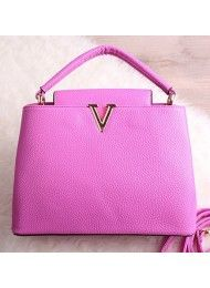P406-ROSE  Material : PU leather Height:    21cm  Length:    28cm  Depth:     12cm Bag Mouth:  Zipper + Magnet  Long Strap:   Yes 0.65 kg  ..