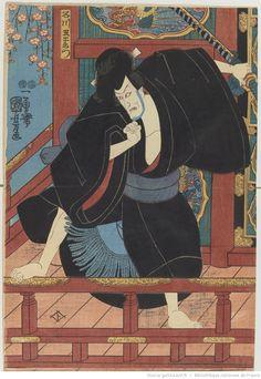 Manuscrit Estampes de théâtre / Utagawa Kunisada 歌川国貞, Ut