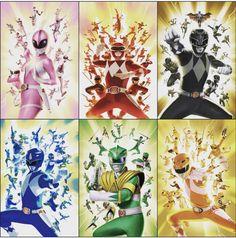 Power Rangers Megazord, Power Rangers Dino, Power Rangers Season 1, Power Rangers Comic, Power Rangers Cosplay, Mighty Morphin Power Rangers, Power Ranger Party, Power Ranger Birthday, Powe Rangers