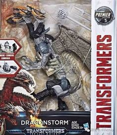 Dragonstrom, Stormreign and Dragonicus Official Images Transformers Last Knight Premier Edition Combiner Figure