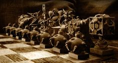 Surreal Chess Set - My Masterpieces - the Release by MANDELWERK on DeviantArt