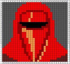 Star Wars crochet blanket : free charts and explanations ! Star Wars Crochet, Pixel Crochet, Crochet Stars, Star Wars Quilt, Alpha Patterns, Craft Patterns, Perler Patterns, Pixel Art Star Wars, Crochet Blanket Patterns