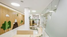 "When Barcelona-based graphic design studio and consultancy Toormix defined the new Children's Daytime Oncology and Hematology Centre at Vall d'Hebron University Hospital as a ""Parc d'Atencions"" (Care Park), they set the tone for what patients and their families can expect, namely expert medical and emotional care given in a welcoming environment that is pleasant for both patients and medical crew."
