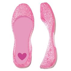 This light-pink jelly flat sparkles with glitter and has a cute heart-print stamp on the lining. Regularly $12.99, shop Avon Kids products online at http://eseagren.avonrepresentative.com