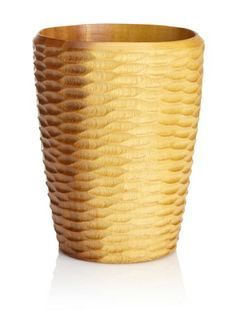 Enrico Natural Acacia Wood Honeycomb Utensil Vase, Natural by Enrico. $18.24. Can be hand washed and cleaned up easily. Easy care food-safe. Made from environmentally-friendly reclaimed mango wood. Natural lacquer finish. Hand-carved. Enrico #3140AH Acacia Honeycomb Hand Carved Natural Casual Dining Utensil Vase in Natural.  Coordinates perfectly with Acacia Honeycomb Salad Bowl, Serving Platter, Salad Servers and 3-Bowl Server!