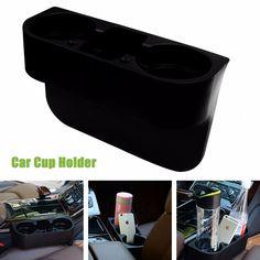 1PC Universal Auto Vehicle Seat Gap Organizer Shelving Cup Holder Car Phone Mug Drink Holder High Quality