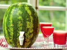 Diary of a Fit Mommy: DIY Watermelon Keg