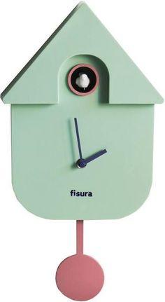 bol.com | Fisura Klok - Koekoeksklok Cuckoo House - munt