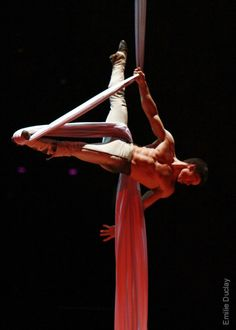 This is What it Means to Perform Aerial Acrobatics, Aerial Dance, Aerial Silks, Russian American, Circus Art, Aerial Arts, Contortion, Yoga, Pole Dancing