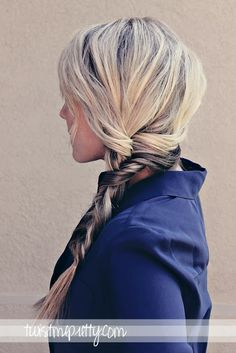 The Alternative Braid - A good braid for those of us with too many layers in our hair!