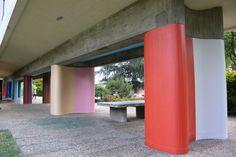 """Exposition """"Suite chromatique, histoires de résidents"""", de Florence Cosnefroy, du 11 juin au 30 aout 2015 à la Fondation suisse/Pavillon Le Corbusier."""