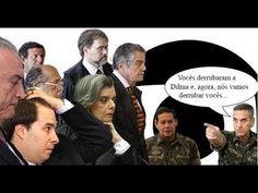 """General diz que milicos darão golpe nos golpistas """"Foi poeticamente irônica a fala do general da ativa que disse em evento reaça em Brasília que """"o alto comando das Forças Armadas"""" planeja dar um golpe militar. Esse recado não foi para o PT, foi para Executivo, Legislativo e Judiciário, que relativizaram o voto popular ao aceitar ou promover o golpe contra Dilma. Agora, os golpistas colhem o fruto do desrespeito às instituições que plantaram com o golpe parlamentar de 2016"""""""