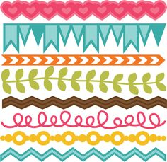 Borders SVG cut files for scrapbooking free svg cut files
