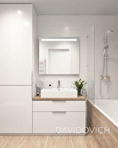 Bathroom Mirror Design, Wood Bathroom, Laundry In Bathroom, Modern Bathroom Design, Bathroom Interior Design, Bathroom Furniture, Small Bathroom, Tiny Bathrooms, Toilet Storage
