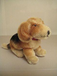 In my ETSY Shop: Steiff Vintage Biggie Beagle ~ Born between 1965 - 1975 ~ Ready for Adoption!