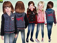 lillka's College Style Jacket & Skinny Jeans