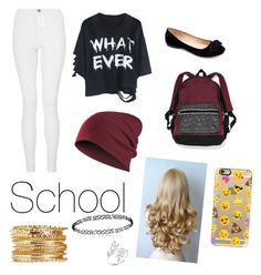 """Untitled #129"" by mylifeasmyaaa on Polyvore featuring Quiz, Machi, Victoria's Secret and Casetify"