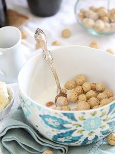 Vanilla Almond Cereal Puffs | www.runningtothekitchen.com by Runningtothekitchen, via Flickr