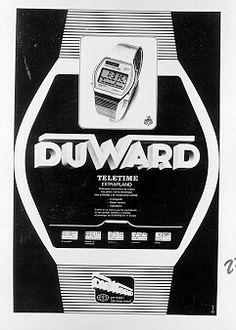 Relojes Duward Serie TeleTime 1973