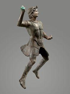 Equestrian statue of Alexander the Great. Hellenistic Art.  II - II s. BC. Bronze.