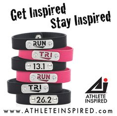 $5 OFF all WRISTBANDS for men/women, Share with your #run #tri #running friends! thru: 4/5 code: band5 @Ath_Inspired