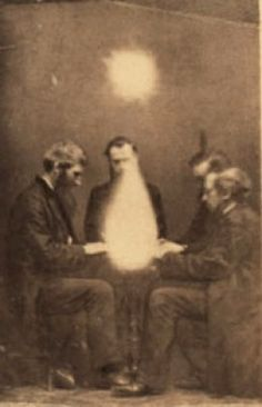 Victorian Spiritualism Movement | Seance conducted by John Beattie in Bristol in England, 1872