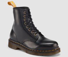 Dr Martens VEGAN 1460 BLACK FELIX RUB OFF - Doc Martens Boots and Shoes