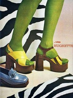 Platform shoes, Source by jillscheintal women shoes Women's Shoes, 70s Shoes, Shoes Ads, Mode Shoes, Platform Shoes, Me Too Shoes, Shoe Boots, Crazy Shoes, 70s Fashion