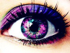 Romantic Purple Eyeshadow #purple #eyeshadow